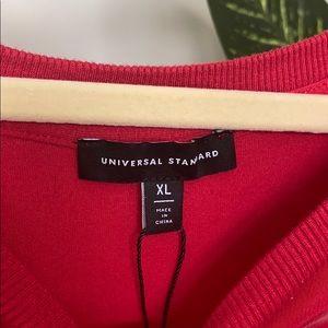 Universal Standard Red Shirt